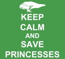 KEEP CALM AND SAVE PRINCESSES LINK by AshlGandy
