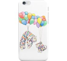 Rainbow Tigers and Balloons iPhone Case/Skin