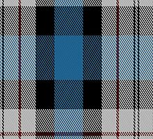 00482 Ferguson Dress Blue Dance Tartan Fabric Print Iphone Case by Detnecs2013