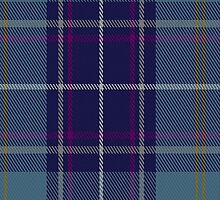 00487 Heirloom Blue Alba Tartan Fabric Print Iphone Case by Detnecs2013