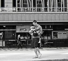 Father and Child... by Balletmum by Shot in the Heart of Melbourne, 2013