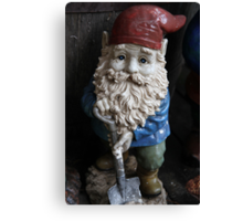 """""""Digger"""" The Gnome Canvas Print"""