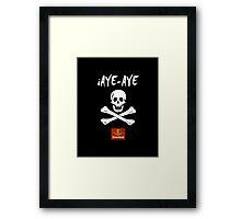 iAye-Aye Framed Print