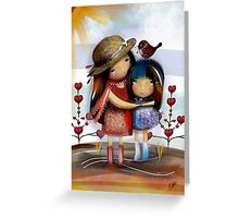 Love and Friendship Greeting Card