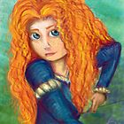 Merida by Clownfishh