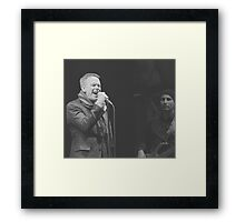 Rick Price Sings Framed Print