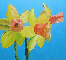 Daffodils by Sarah Langford