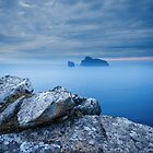 Boreray from Hirta, St Kilda by Christopher Thomson