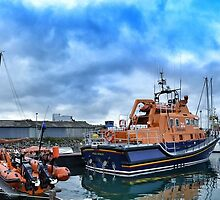 Newlyn lifeboat by Steve winters Photography