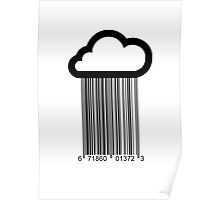 Barcode Cloud Poster