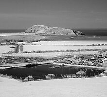 Brean Down viewed from Uphill near Weston-super-Mare by Antony R James
