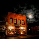 Moon Over Brownsville by Charles & Patricia   Harkins ~ Picture Oregon