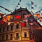 Helsinki - Yrjonkatu and Lönnrotinkatu corner by Michal Tokarczuk