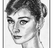 Audrey Hepburn by JMcCombie