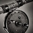 Vintage Fishing Reel by Paul Holman