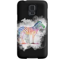 Colorful Zebra in a Cloud Samsung Galaxy Case/Skin