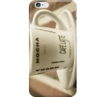Cafe Coffee Fine Art Photography for Kitchen Decor iPhone Case/Skin