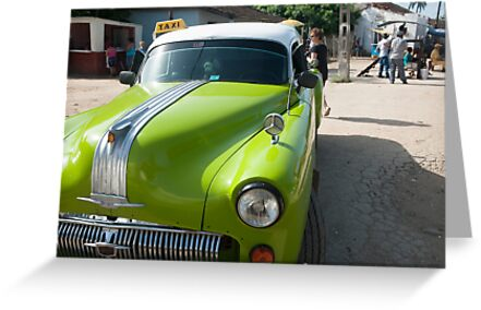 Classic American car in Cuba. by brians101