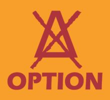 Option Simple logo red by tnoteman557