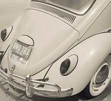Old Volkwagen Beetle back end. by brians101