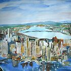 Fine Art America Boston, Massachusetts Cityscape - Wall Art by RedCoatStudio