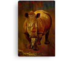 Vegetarians Have to Eat Too Canvas Print