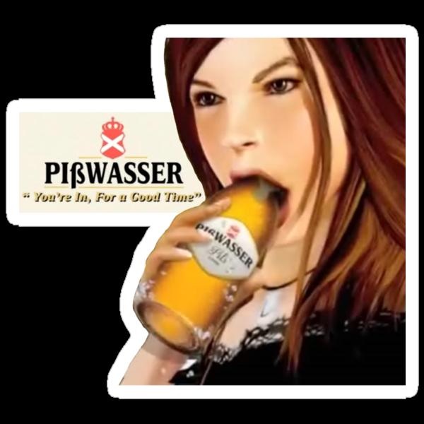 GTA Piswasser Beer T shirt by Creadius