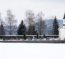 Winter chapel by Ian Middleton