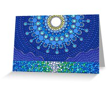 Full Moon Splendour Greeting Card