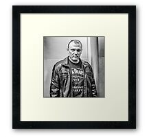 Bad Boy? Framed Print