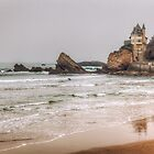 Mysterious Mansion on the Beach by mcdonojj