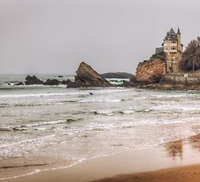 Mysterious Mansion on the Beach by Joshua McDonough