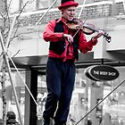 Tightrope musician by Glaspark