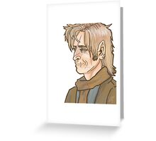 Remus Lupin Portrait Greeting Card