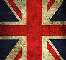 Iphone case GB Great Britain flag old  by Sasko97