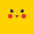 Pikachu IPhone case by Sam Mobbs