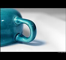 Ceramic Turquoise Teacup Detail by © Sophie W. Smith
