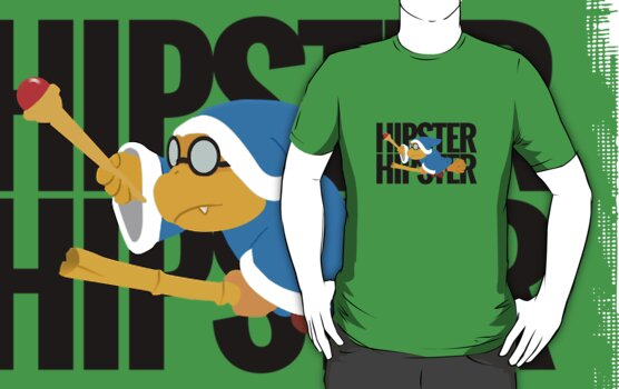 Kamek is a Hipster by tjhiphop