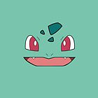 Bulbasaur IPhone case by Sam Mobbs