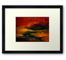 A Sudden Softness.. Framed Print