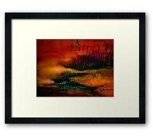 A Sudden Softness.. Framed Print