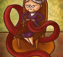 Knitting by Ine Spee