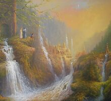 Rivendell.( Wisdom Of The Elves by Joe Gilronan