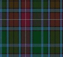 00557 Buchanan Hunting (Mackinlay strip) Clan Tartan Fabric Print Iphone Case by Detnecs2013