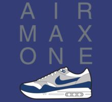 AIR MAX ONE 1 OG BLUE by strummerblue