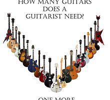 How many guitars does a guitarist need? by Geoffgroth