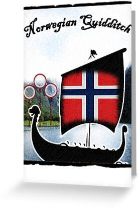 Norwegian (Norsk) Quidditch  by Isaac Novak