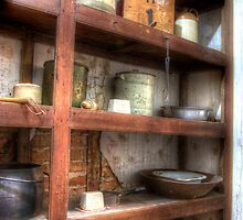 Whats in the pantry  Cooma Cottage NSW Australia  by Kym Bradley