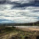 View From Taemas Bridge  NSW Australia  by Kym Bradley