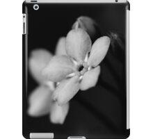 Forget-Me-Nots 10 B&W iPad Case/Skin